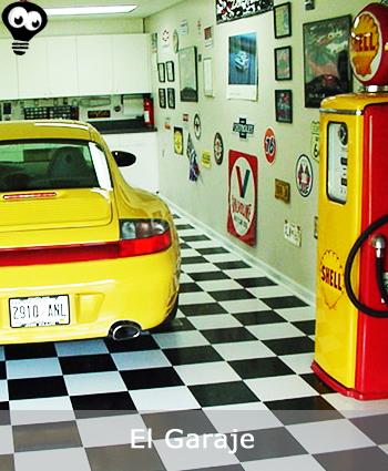Decoracin para el Garaje Ideal para los que Estn Cuidando su Coche